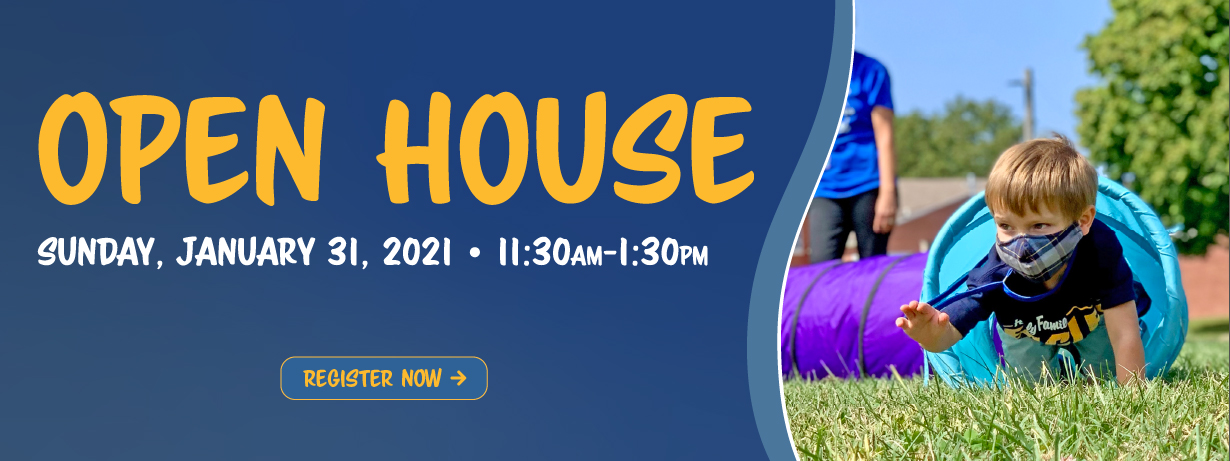 Holy Family Open House - January 31 from 11:30-1:30 - Click here to register
